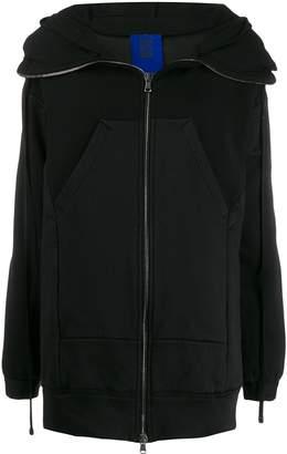 Ilaria Nistri oversized zipped hoodie