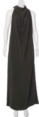 Nina Ricci Maxi Halter Dress