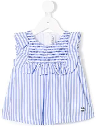 Simonetta striped ruffle top