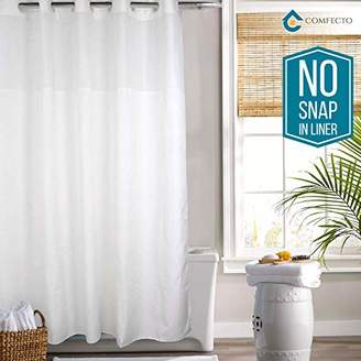 Hookless Shower Curtain By COMFECTO