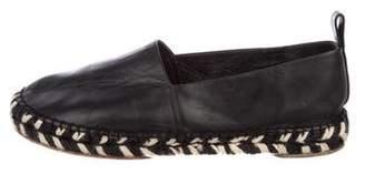 Proenza Schouler Leather Espadrille Flats