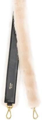 Prada detachable handbag strap