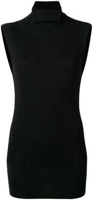 Poiret ribbed sleeveless sweater