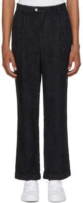 Pyer Moss Grey Pinstripe Trousers