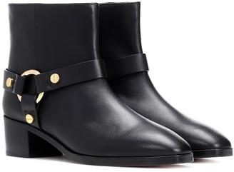 Stuart Weitzman Expert leather ankle boots