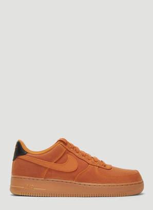 Nike Force 1 07 LV8 Suede Sneakers in Beige