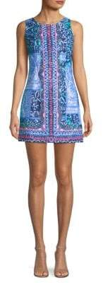Lilly Pulitzer Mila Stretch Print Mini Dress