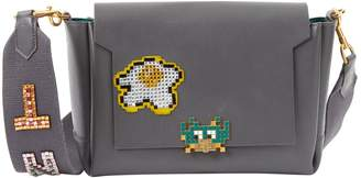 Anya Hindmarch Grey Leather Handbag