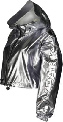 Ivy Park Metallic Crop Jacket - Women's