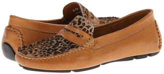 Massimo Matteo Penny with Cheeta Vamp Women's Moccasin Shoes
