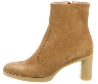 Robert Clergerie Suede Ankle Boots