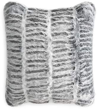 """Hudson Park Collection Sculpted Faux Fur Decorative Pillow, 20"""" x 20"""" - 100% Exclusive"""