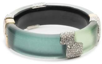 Alexis Bittar Crystal Encrusted Colorblocked Bracelet