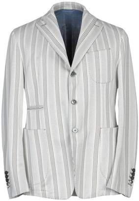 e383934cb465f JOHN SHEEP Blazer. decorative buttons striped blazer