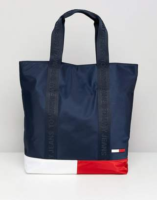 Tommy Jeans Classic Colour Block Tote Bag