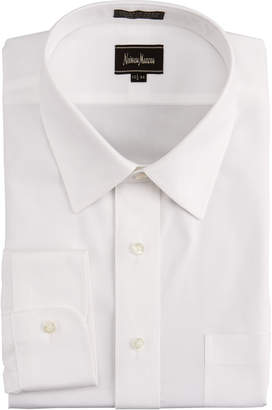 Neiman Marcus Classic Fit No-Iron Pinpoint Shirt