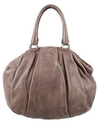 Prada Pleated Cervo Bag