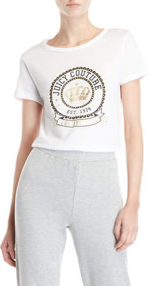 Juicy Couture Foil Crow Logo Tee