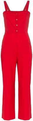 STAUD sophia cotton jumpsuit