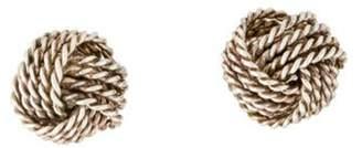 Tiffany & Co. Knot Earrings silver Knot Earrings