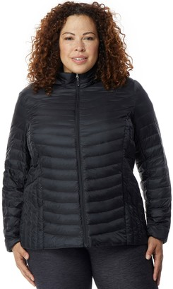 Heatkeep Plus Size HeatKeep Silk Nano Packable Down Jacket