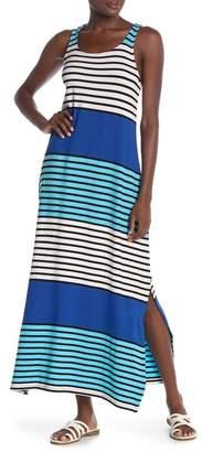 Tommy Bahama Blocked Print Maxi Cover-Up Dress