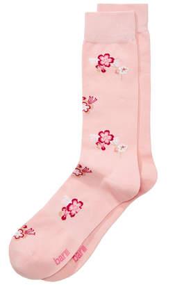 Bar III Men's Garden Blossoms Dress Socks, Created for Macy's