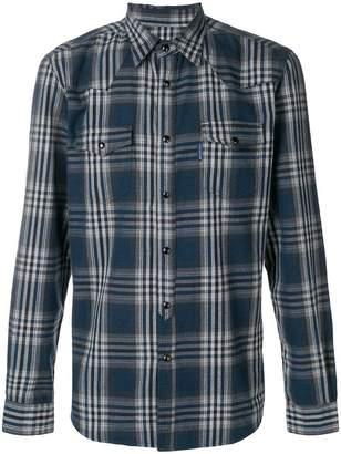 Hydrogen plaid classic shirt