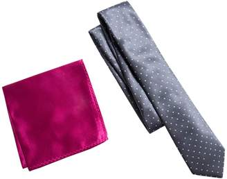 Apt. 9 Men's Patterned Skinny Tie & Pocket Square Set