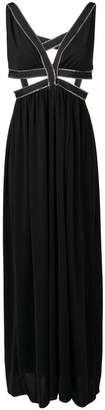 Each X Other zipped trim evening gown