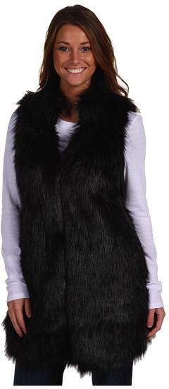 MICHAEL Michael Kors - Faux Mink Long Vest