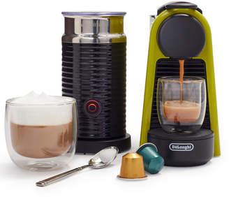 Nespresso Essenza Mini Espresso Machine by De'Longhi with Aeroccino3 Frother