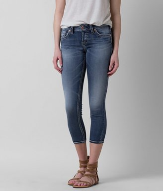 Silver Suki Stretch Cropped Jean $79 thestylecure.com