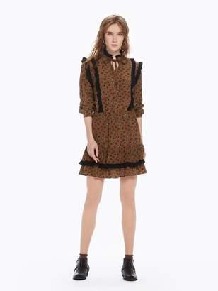 Scotch & Soda Ruffle Star Print Dress