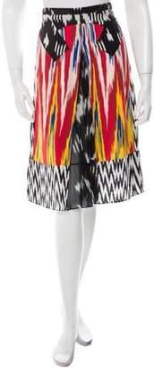 Altuzarra Silk Printed Skirt w/ Tags