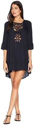 Roxy Goldy Soul Long Sleeve Dress Cover-Up