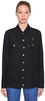 Calvin Klein Long Cotton Blend Western Jacket