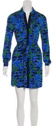 Diane von Furstenberg Silk Jersey Mini Dress