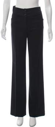 Joseph High-Rise Wide-Leg Pants