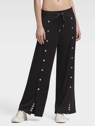 DKNY Snap-Front Track Pant