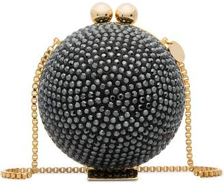 Swarovski Marzook black crystal sphere clutch