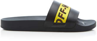 Off-White Industrial Rubber Slides