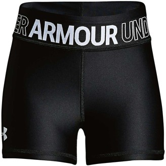 Under Armour Girls HeatGear Armour Shorty Shorts
