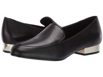 7179cfdade8 MICHAEL Michael Kors Black Slip On Women s flats - ShopStyle