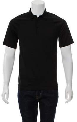 Balenciaga Woven Polo Shirt