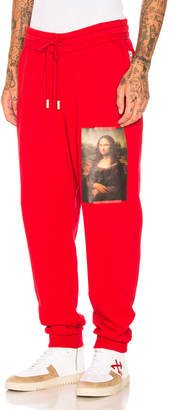 Off-White Off White Monalisa Sweatpants