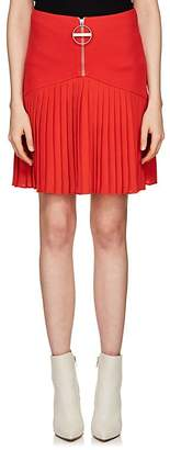 Givenchy Women's Compact Knit & Crepe Miniskirt