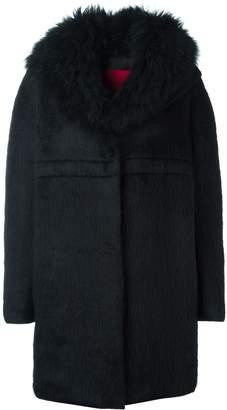 Moncler long sleeve cocoon coat
