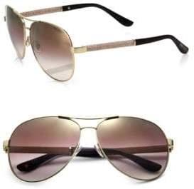 Jimmy Choo (ジミー チュウ) - Jimmy Choo Lexie Aviator Sunglasses