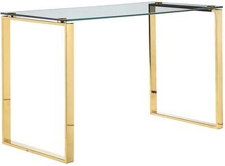 One Kings Lane Helen Desk - Gold